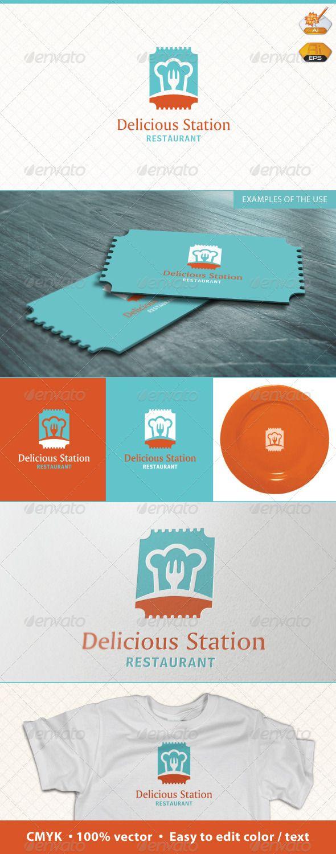 Delicious Station Restaurant Logo