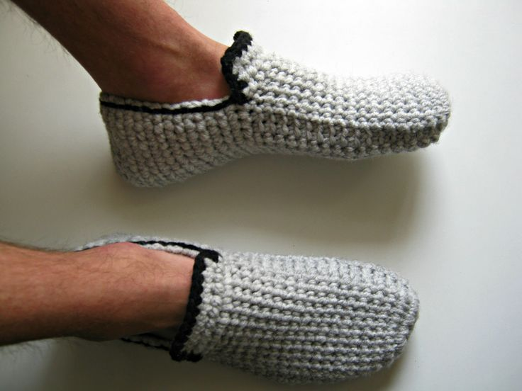 Men's House Shoes, Crochet Men's Slippers, Crochet Loafers, Crochet Moccasins, Men Slipper Boots, Father's Day Gift, Gift For Men https://www.etsy.com/listing/280125600/mens-house-shoes-crochet-mens-slippers?ref=shop_home_active_2 The slippers are made with a high quality 20% wool and 80% acrylic yarn, making them warm and very comfortable. They are durable for lots of wear and easy washing. Slippers are intended to be used indoors and fit like socks.