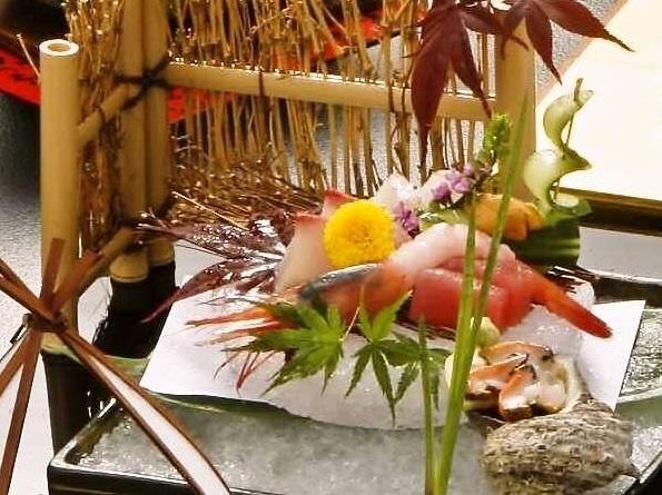 日本料理会席イメージ。
