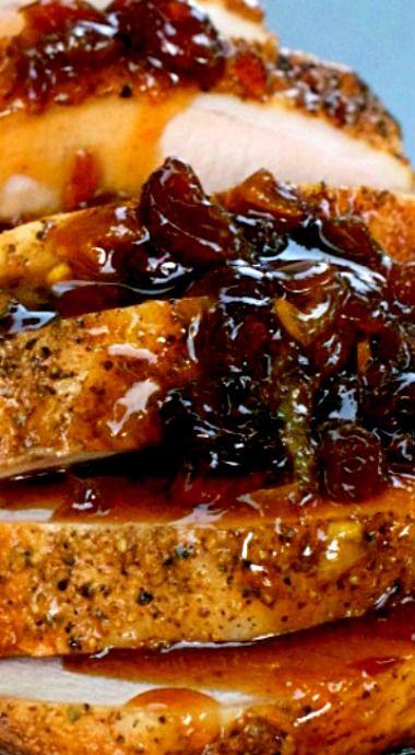 Cranberry Orange Pork Roast ❊