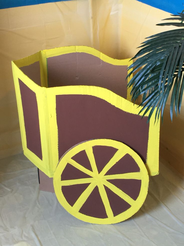 Cardboard chariot http://abnb.me/e/1Bw4yfnlSC