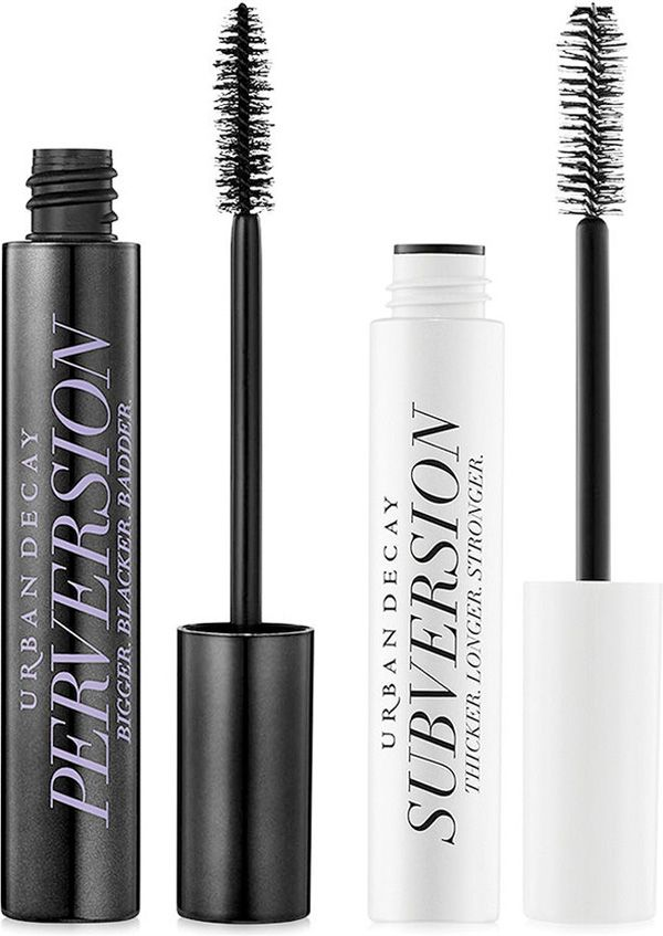 Urban Decay Perversion Mascara + Subversion Lash Primer = BOLD Lashes