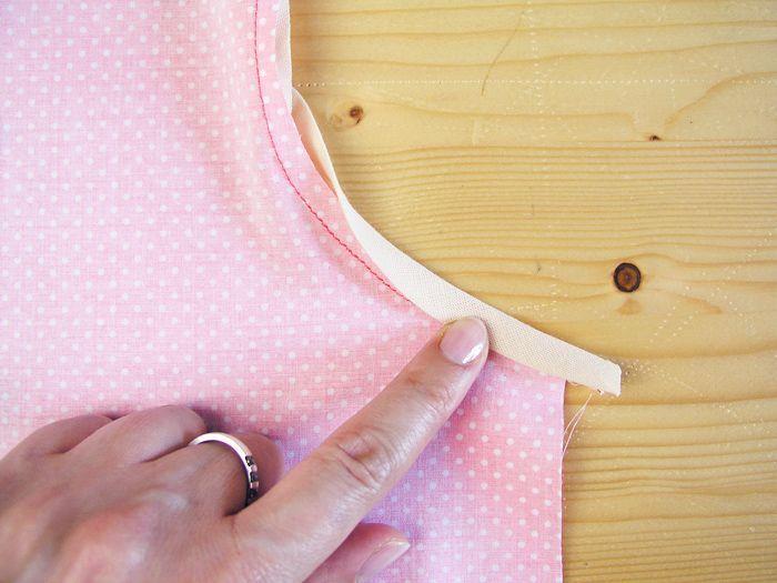 Coser cinta al bies ribeteada | Betsy Costura