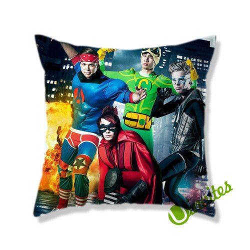 5sos heroes Square Pillow Cover