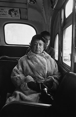 Photo: Diane Arbus, New York, 1956.