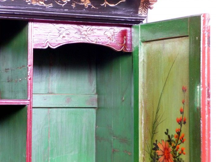 Simple Alter chinesische M bel Schrank du sud de la chine