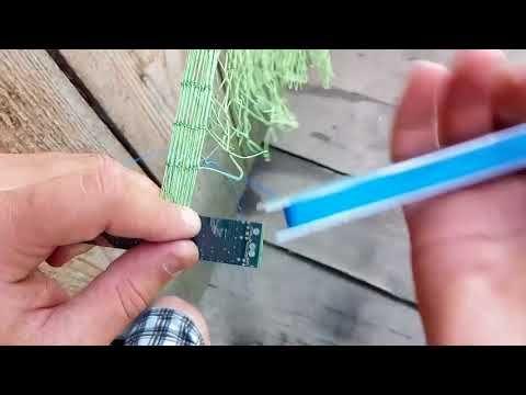 (126) Узлы для вязания сетей. - YouTube