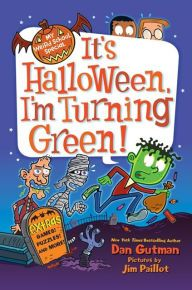 Three sparkly stories in one Rainbow Magic book, just in time for Halloween!BOO! It's Halloween, and Rachel and Kirsty can't wait to go trick-or-treating...