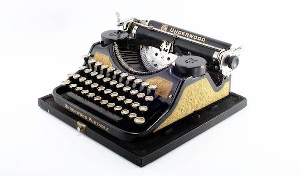 Refurbished Vintage Underwood Typewriter