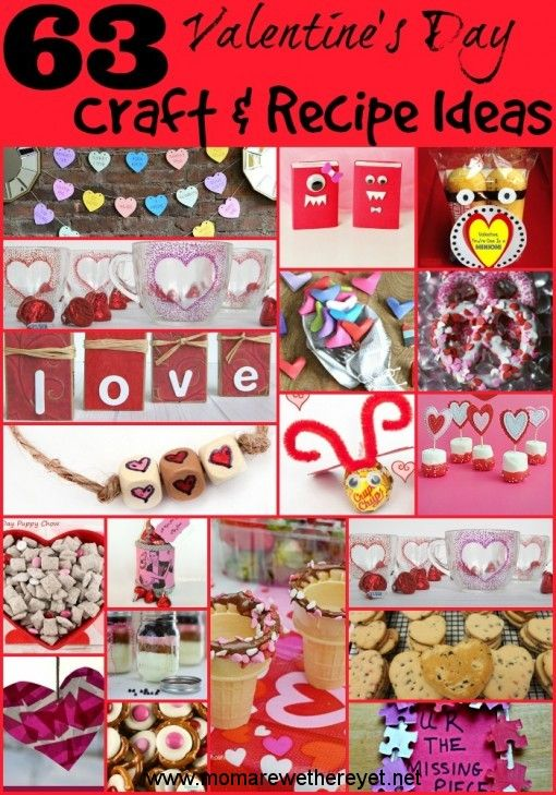 Valentine's Day Craft, Card & Recipe Ideas Great ideas for ...