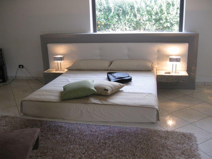#Camera da letto moderna Gruppo e #Letto mod. #Wing - Armadio Mod. #Tecnopolis anta #Alibi di #Presotto su www.outletmobili-italia.it