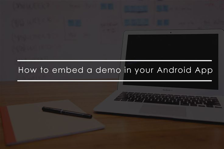One cool feature of AppDemoStore.com demos is that you can easily embed them in your existing Android apps. This is an easy way to provide a guided tutorial for your users so they'll quickly get introduced to your app. #appdemostore #tutorial #embed #demo
