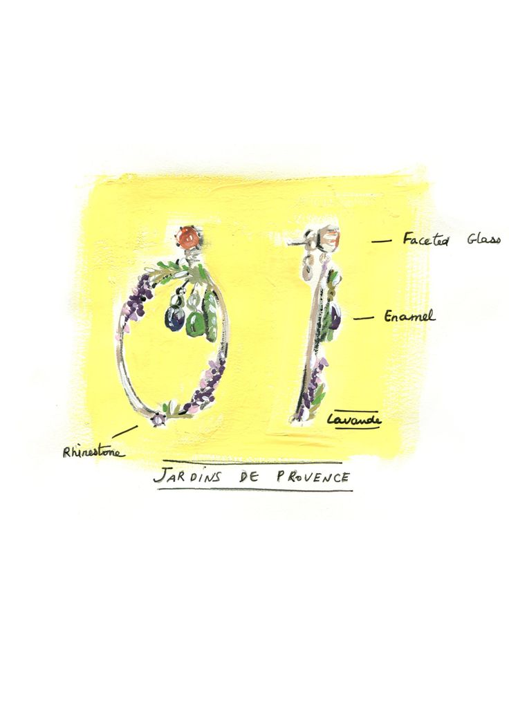 Garden of Provence Collection - Earrings
