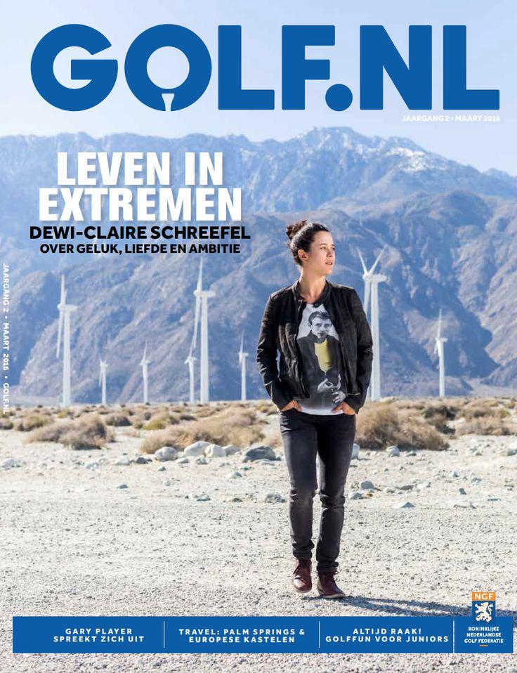GOLF.NL magazine - Tweejaarlijkse glossy uitgave (oplage 240.000) van de Nederlandse Golf Federatie; Editorial manager (2013-heden)