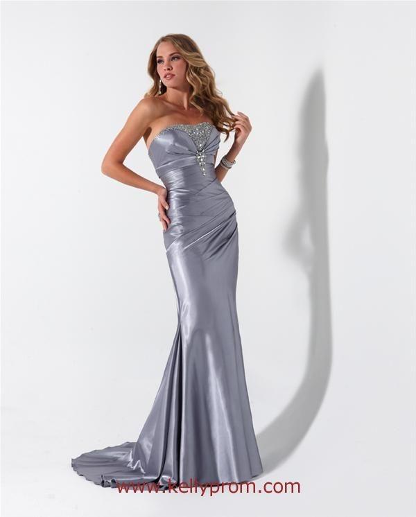 Silver evening dress by flirt