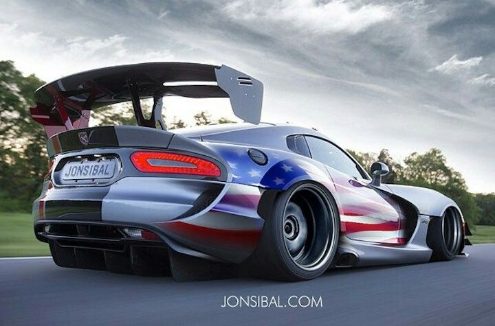 Dodge Viper Wide Body Archives - Motorward, Photoshop