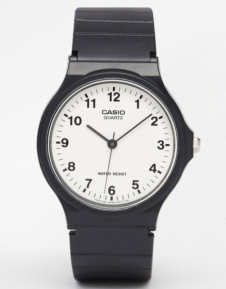 Bild 1 von Casio – MQ-24-7BLL – Analoguhr mit Kunstharz-Armband