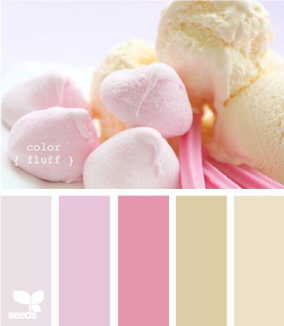 color fluffCandies Colors, Colors Fluff, Room Colours, Nurseries Colors, Design Seeds, Pastel Colours, Colors Palettes, Colors Schemes, Colors Inspiration