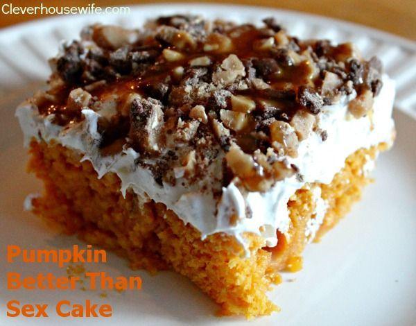 Pumpkin Better Than Sex Cake  - This fall treat will rock your world!