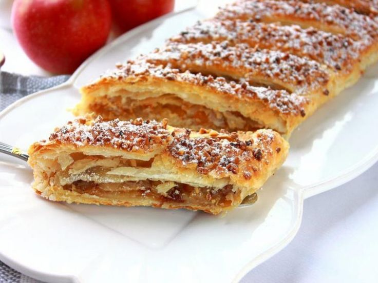 Apfelstrudel (Strudel aux pommes) au Thermomix