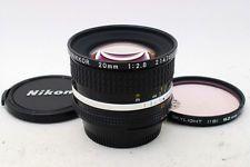 Nikon Nikkor AI-S 20mm F/2.8 MF Ai-S Lens