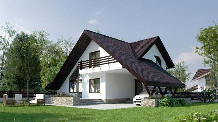 Proiecte de case pentru o familie cu patru membri Best house plans for a family of four 7