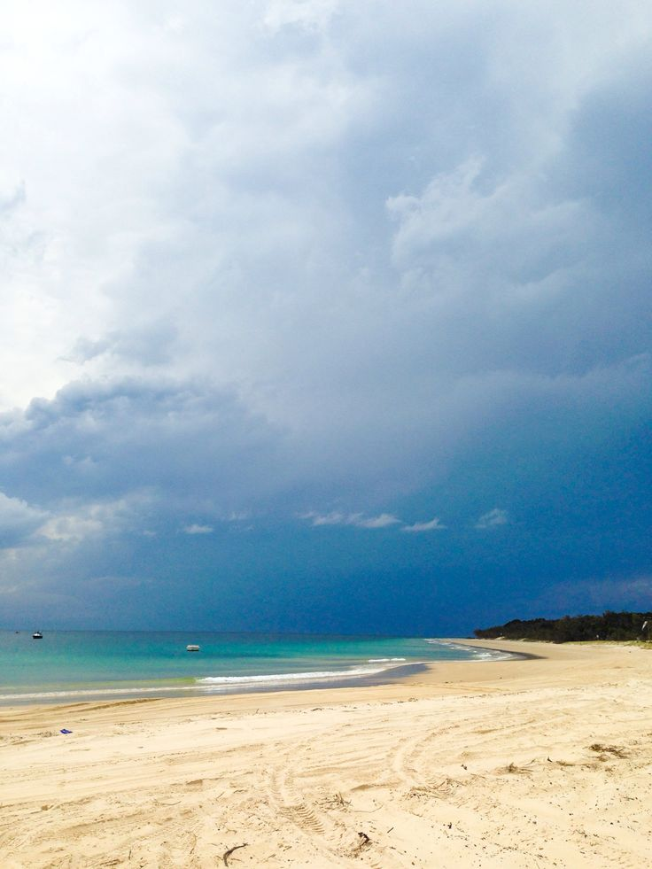 Moreton Island, a short ferry trip from Brisbane. Great for a weekend away.