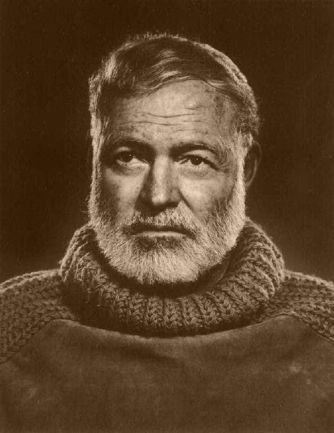 """""""ชีวิตอันแสนสร้างสรรค์และแสนห้าวของ Earnest Hemingway ..  A lesson all intellectual need to learn."""" ~ ทักษ์ศิล ฉัตรแก้ว / mba - magazine blogspot.com"""
