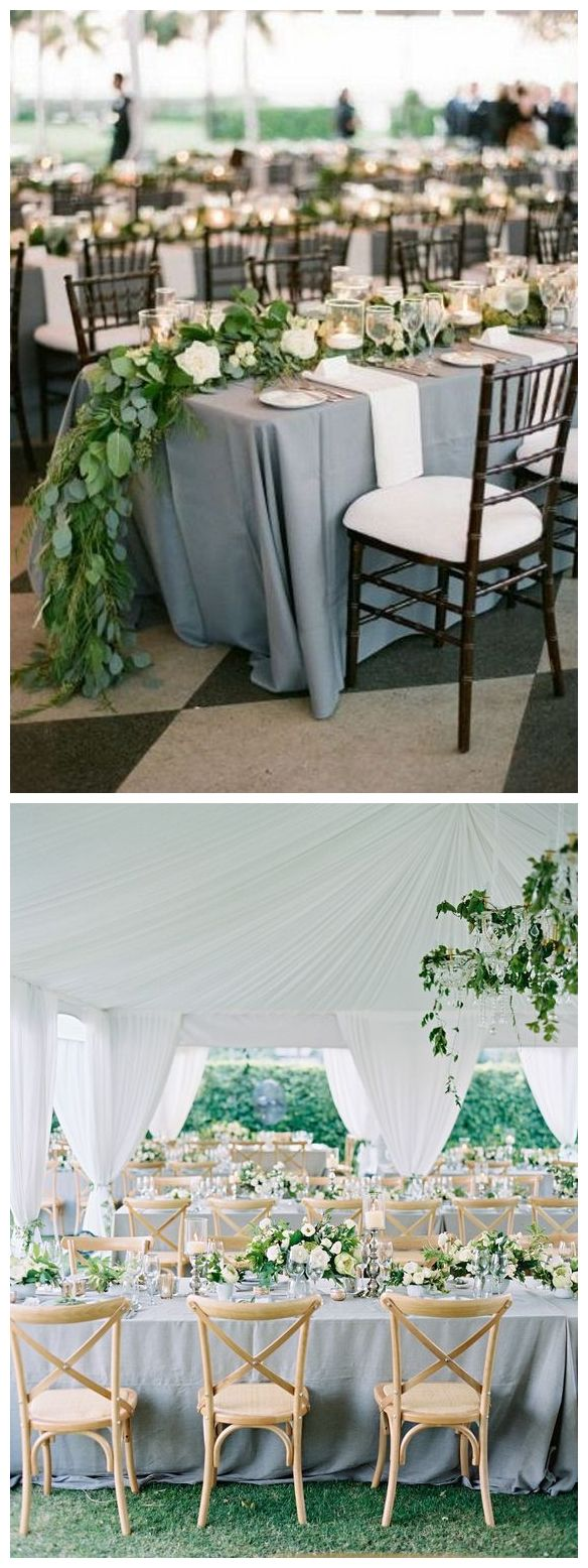 wedding reception at home ideas uk%0A Dusty blue wedding reception decor idea  weddings  weddingideas