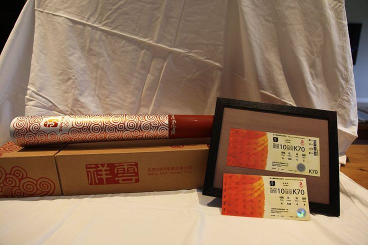 Beijing 2008 Olympic Games Torch and Olympic Memorabilia   | eBay