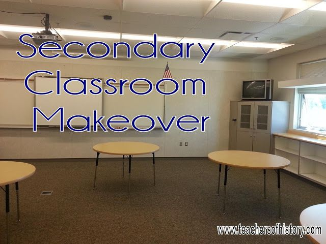 Classroom Decor Middle School ~ The perfect middle high school classroom make over plus