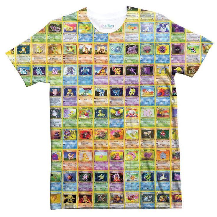 I'll trade you this tee for your shiny Blastoise?  #pokemon #shelfies