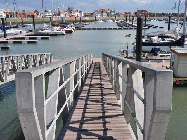 Jachthaven Blankenberge in Belgium