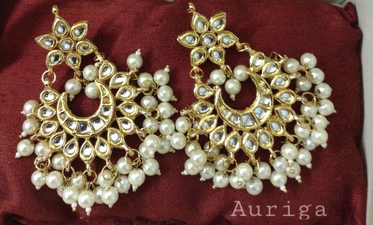 Latest Chandbali's from Auriga! Buy now