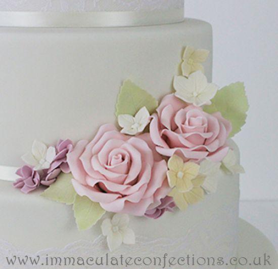 Pretty Pastels Wedding Cake Wedding Cakes Award Winning Cakes By Natalie Porter Hertfordshire