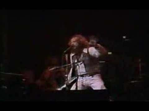 ▶ Jethro Tull - Thick as a Brick - Madison Square Garden 1978 - YouTube -Bloody Amazing- no lip syncing here!