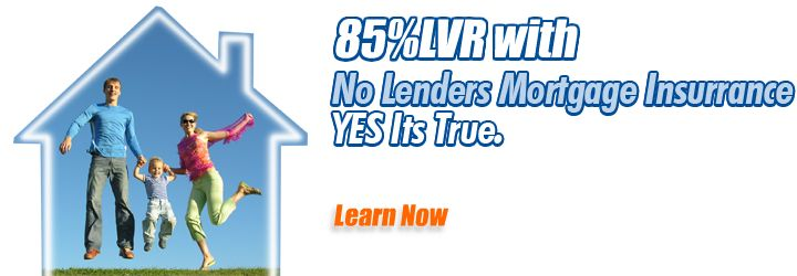 Get your mortgage insurance waived at 85% LVR