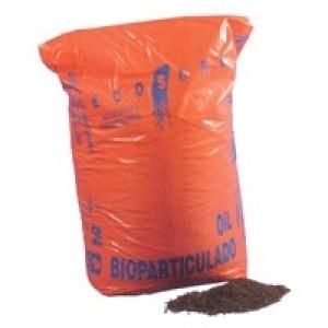 Bioparticulado - Producto granular orgánico absorbente de hidrocarburos y repelente al agua.  http://www.janfer.com/es/absorbentes-industriales/1153-absorbente-industrial-bioparticulado.html