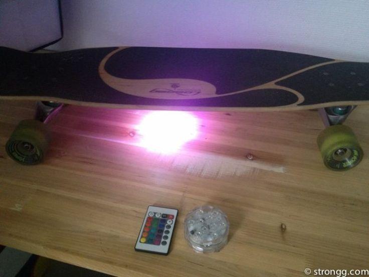 Ein LED Longboard - DIY Glowboard - das eigene Longboard zum leuchten bringen.