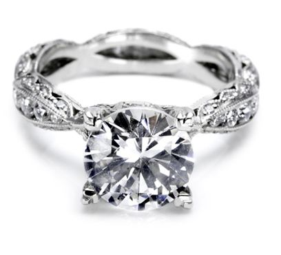 I heart this ring from TACORI! Style no: 2578RD9