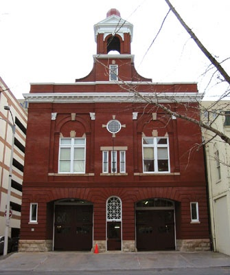 Fire Station No. 1, Roanoke, Virginia (built in 1909) | Shared by LION