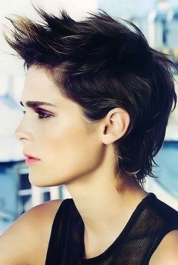 Gorgeous Short Dark Haircuts