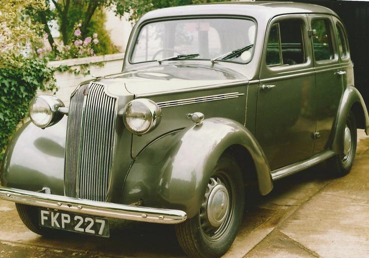 1939 Vauxhall 12 Saloon