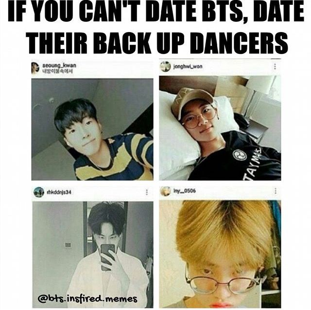 Yes that seams nice, we have hope yet but sadly we couldn't have J-hope<< or yoongi. or tae. or jimin. or namjoon. or jungkookie. or jin.