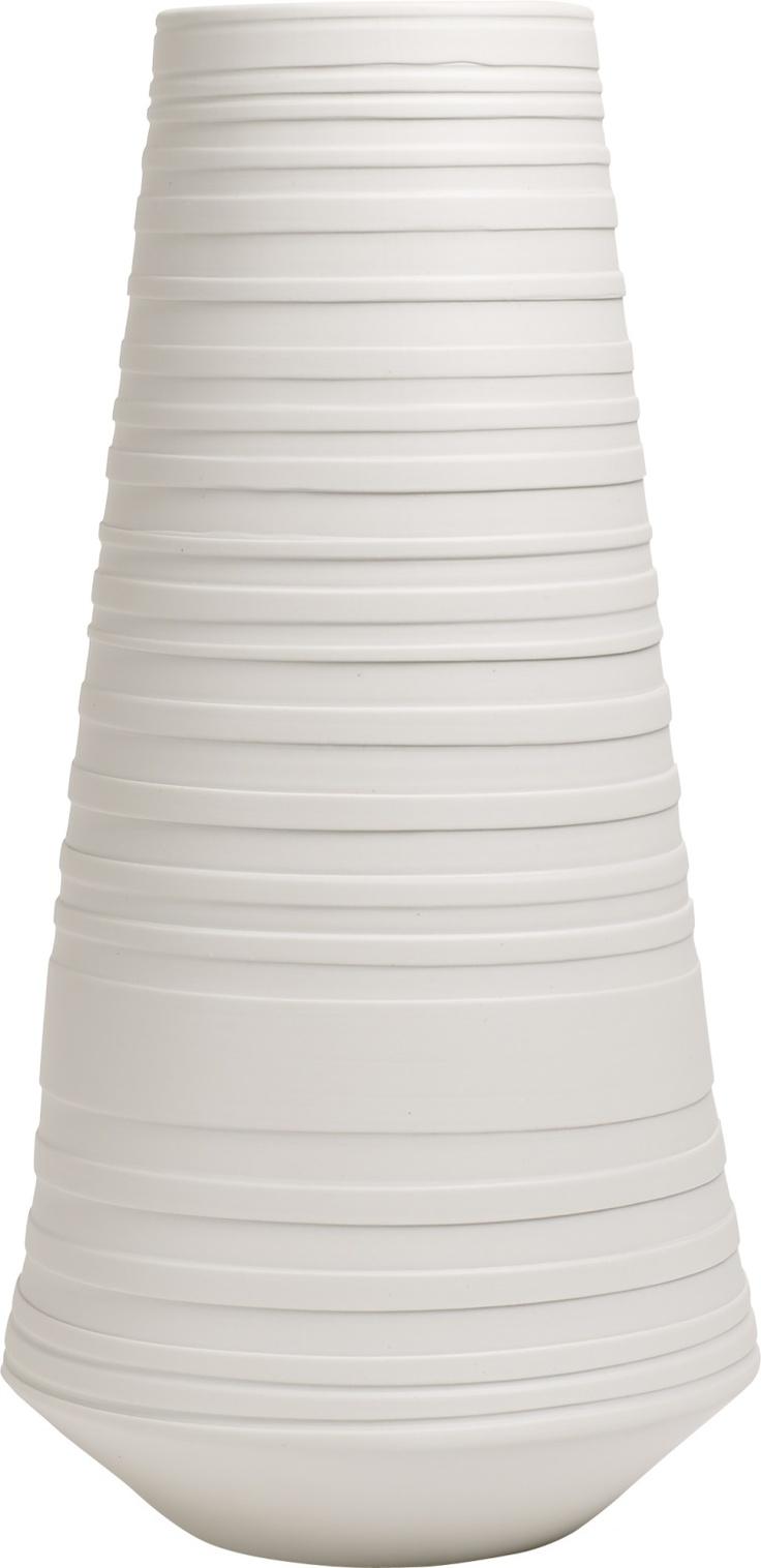 Albius høy vase i keramikk. Kr. 305,-