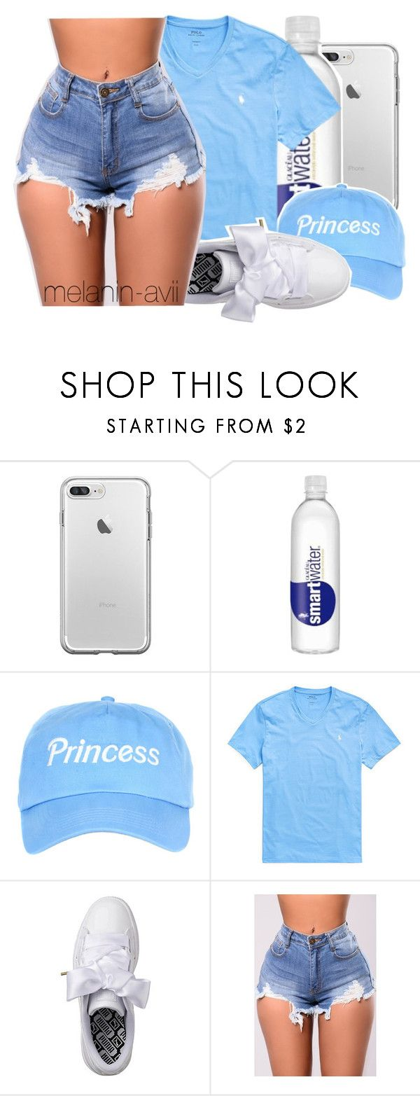 """""""you may think you know but you don't"""" by melanin-avii ❤ liked on Polyvore featuring Ralph Lauren and Puma"""