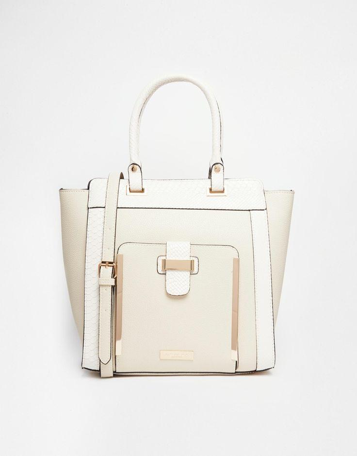 Image 1 ofCarvela Tote Bag With Front Pocket