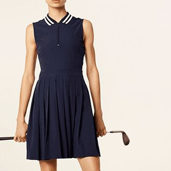 Flattering Golf Dress from Tory Burch