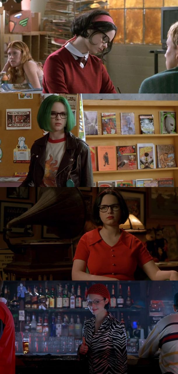 """Ghost World"" (2001) directed by Terry Zwigoff, starring Thora Birch, Scarlett Johansson and Steve Buscemi"