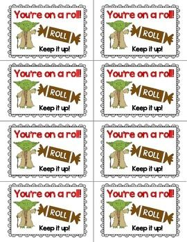 Test Stars Test Prep Testing Treat Labels: Full Color and
